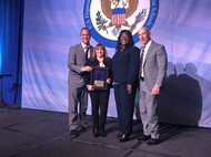 National Blue Ribbon Award Ceremony, formal accepting the award