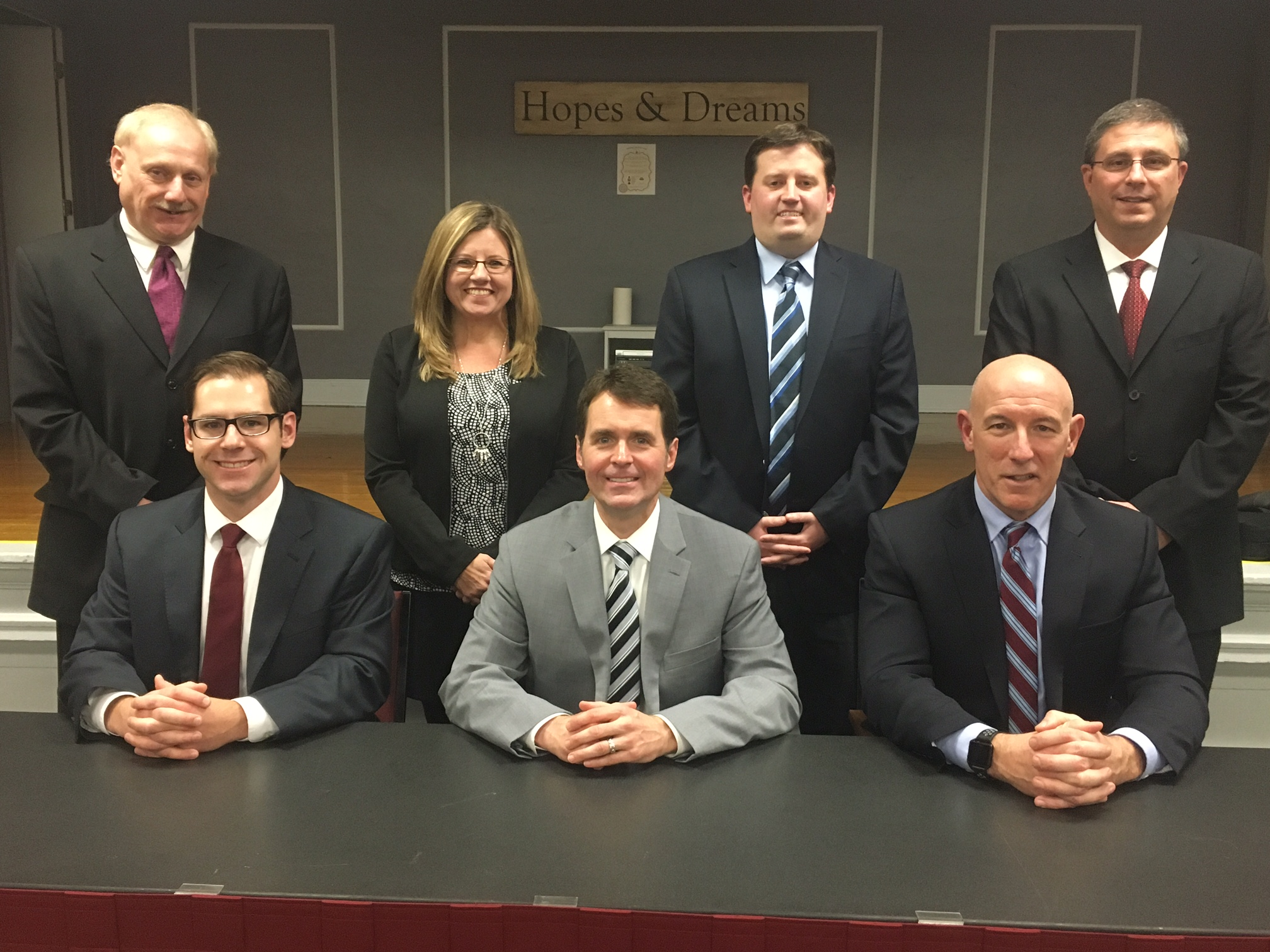 Boardman School Board and Administrators