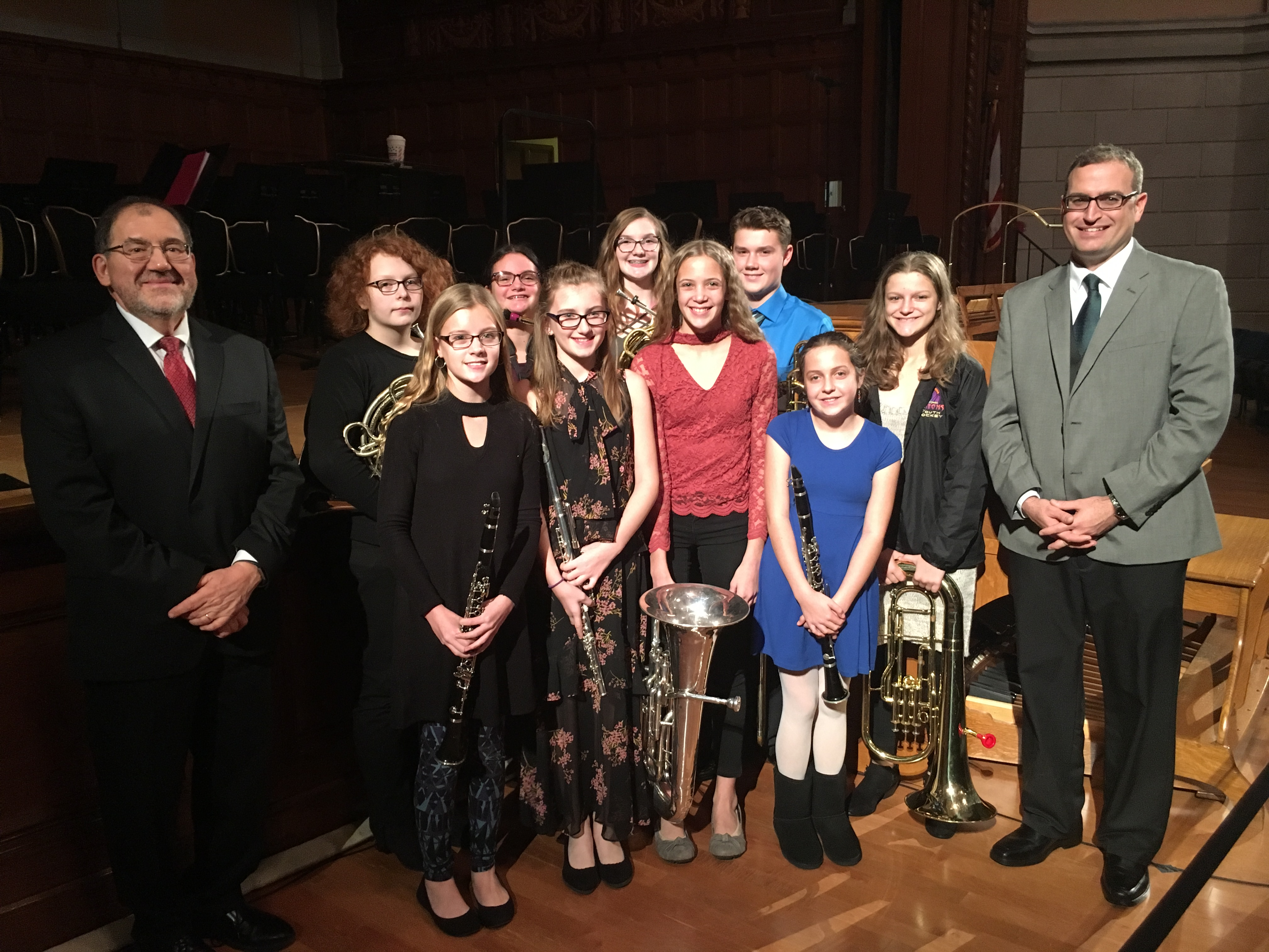 glenwood students honors band