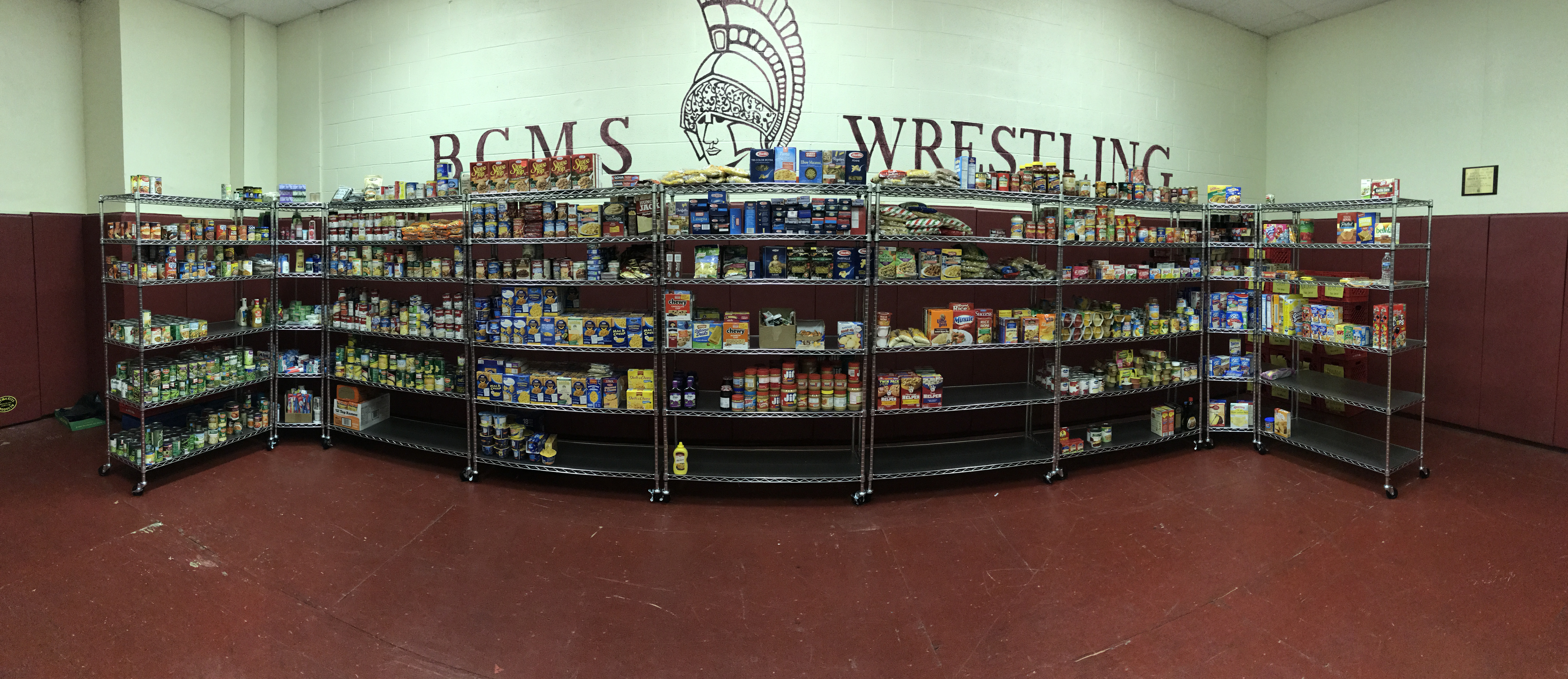 Center's Food Pantry