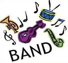 BAND INSTRUMENTS IN CLIP ART