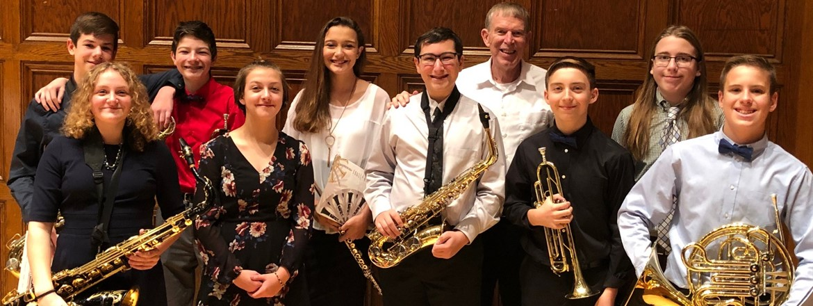 7th and 8th grade musicians selected for OMEA District 5 Honors Band